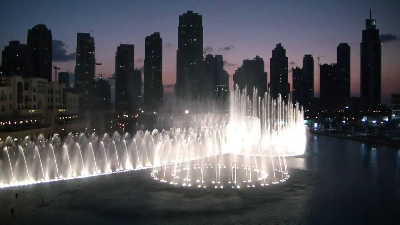 Dubai Fountain Downtown Burj Khalifa Dubai Mall Hd - Youtube-5857