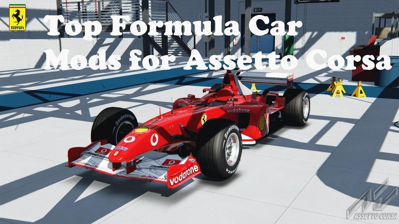 Top Formula Mods for Assetto Corsa - Самые лучшие видео