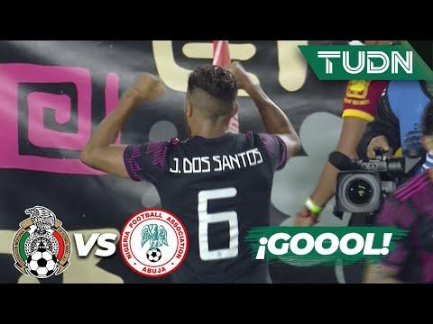 ¡GOLEADA! Aparece 'Jonah' Dos Santos | México 4-0 Nigeria | Amistoso Internacional | TUDN