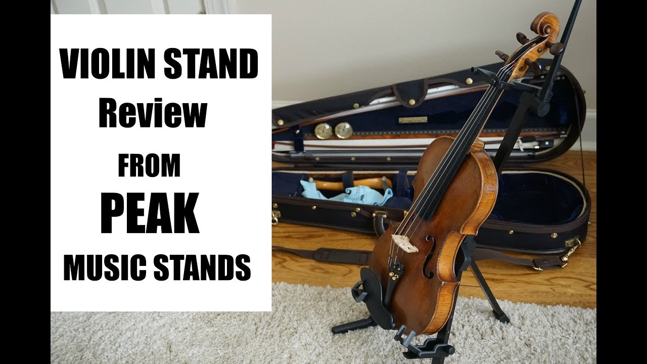 Violin Stand Review from Peak Music Stands