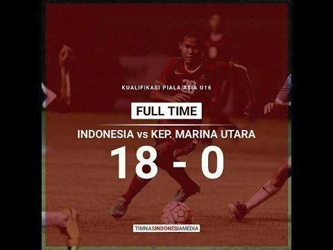 Menggila.... indonesia 18 vs 0 Kep. Marina Utara