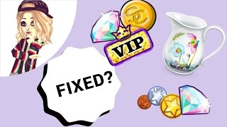 CHARLES IS FIXED? + Glitching VIP clothes!