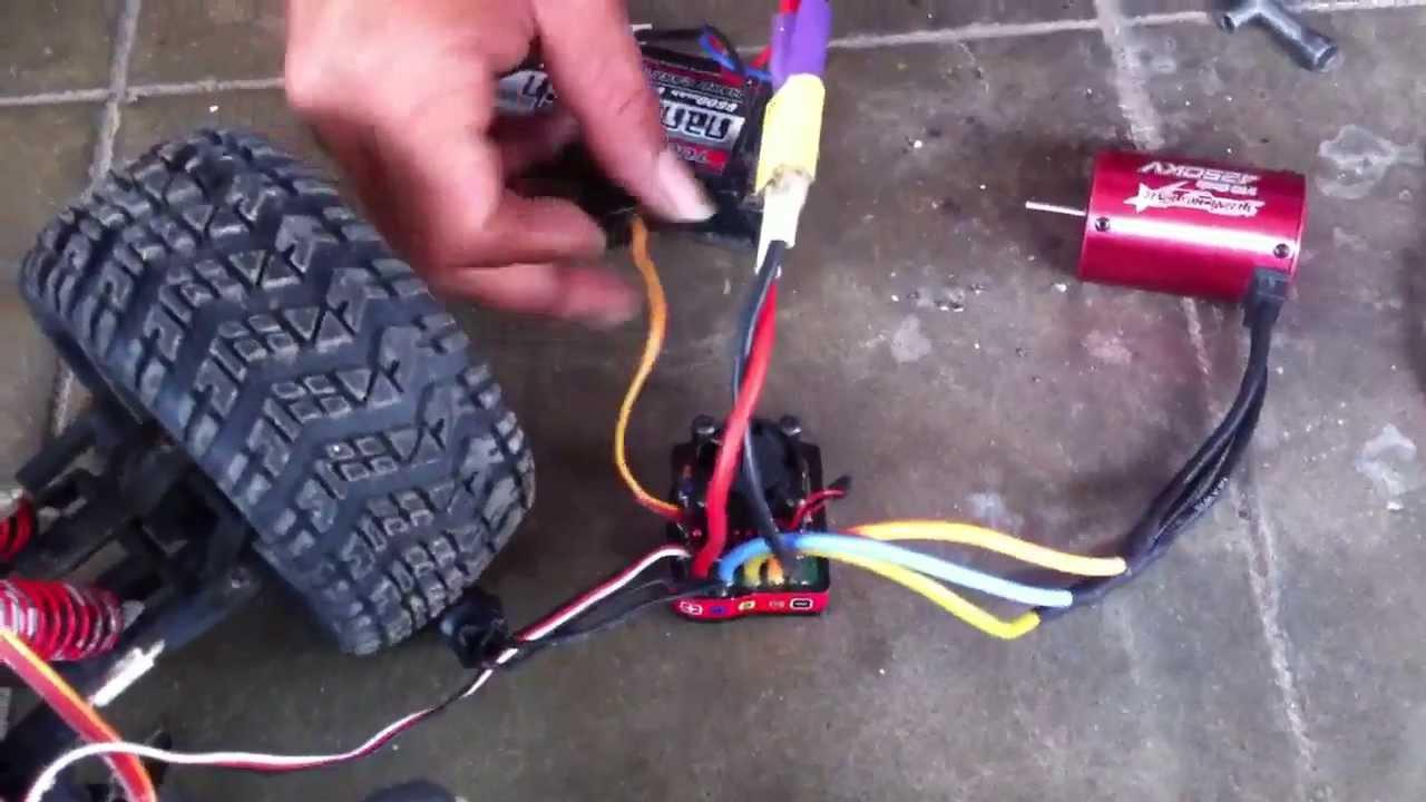 turnigy trackstar waterproof combo brushless system 4250kv 80a not turnigy trackstar waterproof combo brushless system 4250kv 80a not working fail