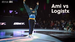 Ami vs Logistx [bgirl] // .stance // Silverback Open 2018 - udeftour.org