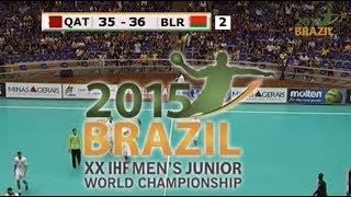 Катар - Беларусь. Гандбол. ЧМ-2015 (U-21). Последние минуты матча
