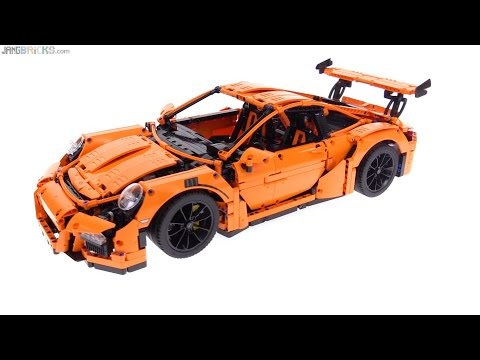 lego technic porsche 911 gt3 rs review 42056 youtube. Black Bedroom Furniture Sets. Home Design Ideas