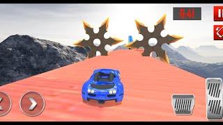 Mega Ramp Car Racing Stunts 3D Impossible Tracks LEVEL #15 Impossible Car Stunts 3D Android Gameplay screenshot 5
