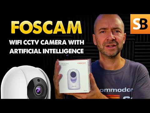 Foscam R4M WiFi Home Security Camera with AI