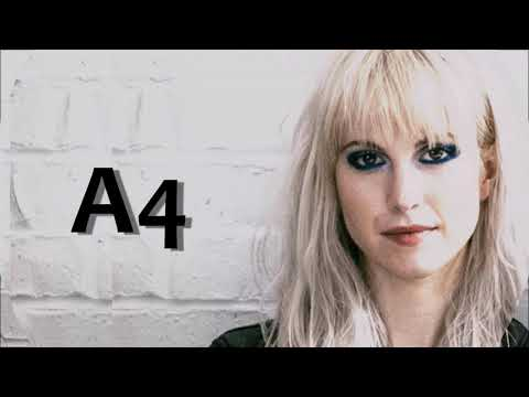 Hayley Williams Nineteen Cover Vocal Range (D3- A4)