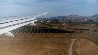 Заход на посадку аэропорт в Афинах(, 2016-05-10T18:35:22.000Z)