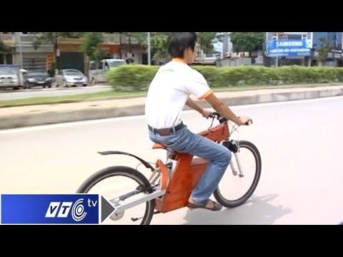 Xe đạp điện tự chế