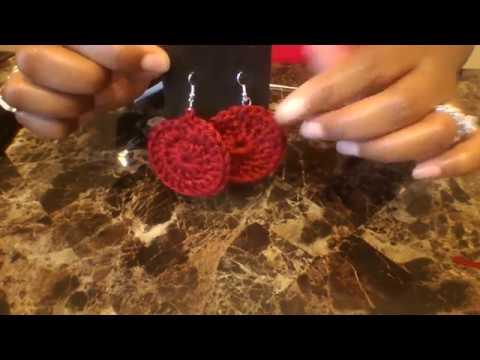 DOY- Crochet Earrings Tutorial