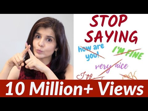 Stop Using These Words in Daily English Conversation | Use Alternate English Words | ChetChat