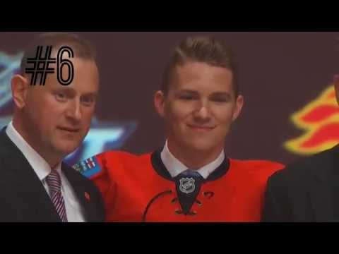 The first round of the 2016 NHL Draft in a minute