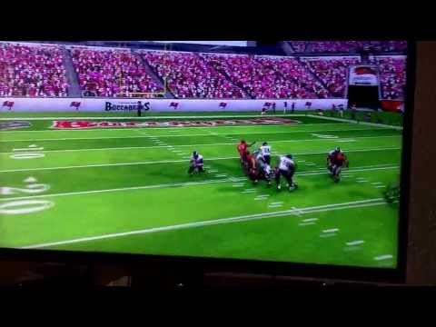Josh cribbs 90 yard muffed punt return for a touchdown! Madden 25