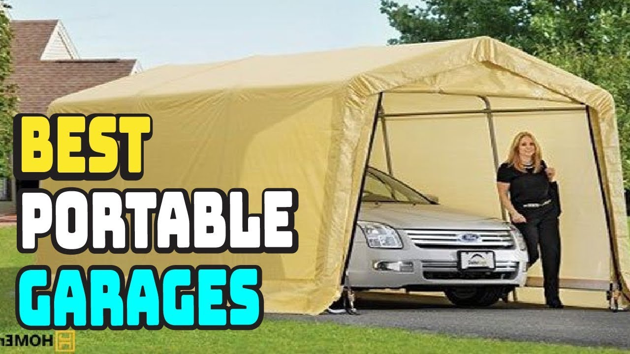 Top 5 Best Portable Garages Review in 2020 - YouTube