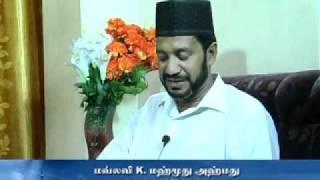 MaaNabi (Sal) avargal thantha Unmai Islam Ep:95 Part-2 (15/05/2011)