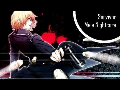 [HD] Survivor - Male Nightcore /w Lyrics