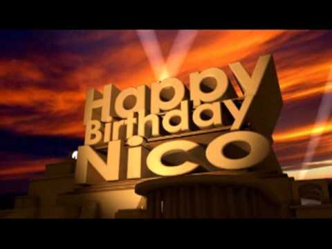Happy Birthday Nico