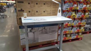 COSTCO! Tresanti Adjustable Height Desk $299