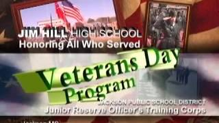 Jim Hill H.S. JROTC Veterans Day Program