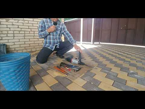 Деда и брусчатка Простая замена тротуарной плитки