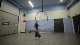 Petra Lesonen - Movement Research - Aerial Hoop
