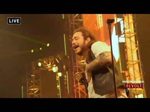 Post Malone - Rockstar (Live Rolling Loud SoCal)