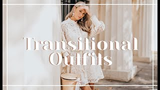 8 TRANSITIONAL AUTUMN OUTFIT IDEAS // What To Wear NOW  | Fashion Mumblr Video