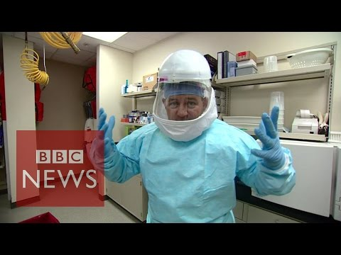 Ebola:  How doctors protect themselves from the virus – BBC News