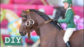How to Make a English Bridle for Schleich Horses