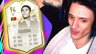 TEST ICON PRIME MOMENTS! #1 - EUSEBIO 94!