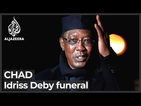 Chad holds funeral for President Idriss Deby
