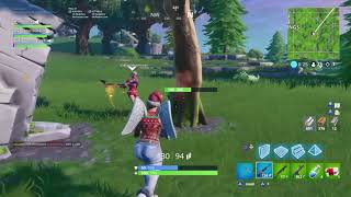 Bush trail glitch- Fortnite