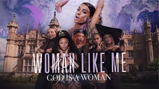 GOD IS A WOMAN LIKE ME - Little Mix, Ariana Grande, Nicki Minaj, Jess Glynne & Camila (Mashup) | MV