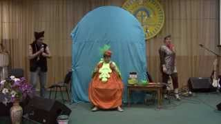 Театральная сценка 'Репка', церковь Хвала и Поклонение' Бровары