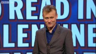 Unlikely Things to Read in a Valentine's Card - Mock the Week - BBC Two thumbnail