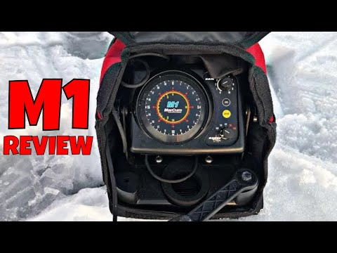 How To Read A Flasher | Marcum M1 Review | Ice Fishing