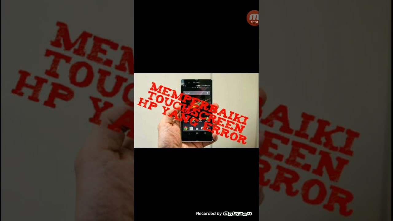 Cara Memperbaiki Layar Smartphone Yang Macet Eror Pada Baterai Tanam
