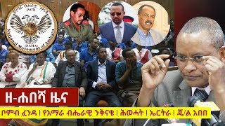 Zehabesha Daily Ethiopian News June 10, 2018