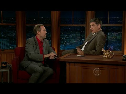 Late Late Show with Craig Ferguson 1/12/2012 Hugh Laurie