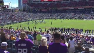 Minnesota Vikings fans take over Nashville