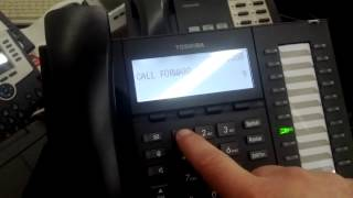 Changing CF Button on Toshiba Phone