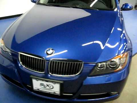 slxi cars for sale 2007 bmw 335i sedan sn849 blue youtube. Black Bedroom Furniture Sets. Home Design Ideas