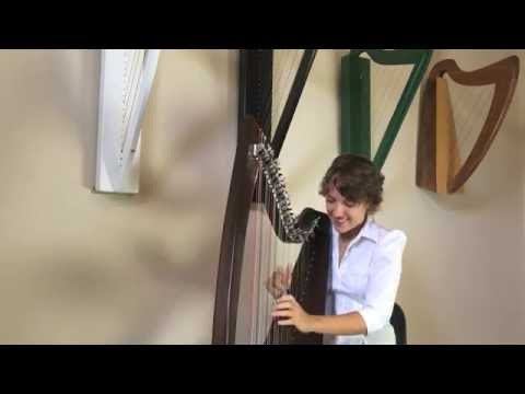 The Office Theme (Harp Cover)