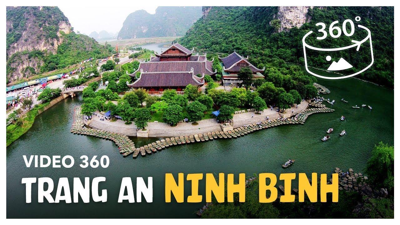 Ninh Binh 360 | Amazing Trang An in Ninh Binh | Video 360 | Tourzy Media