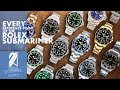 Every Reference Point Of The Rolex Submariner (From 1953 to 2020)