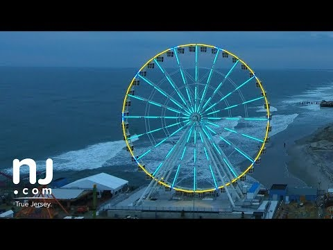 New 227-foot high Atlantic City observation wheel is ready to spin