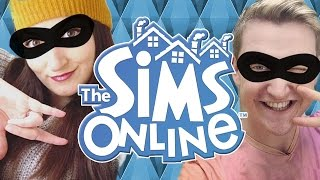 Scott & I GET KICKED for Being JAM THIEVES!! | THE SIMS ONLINE MULTIPLAYER