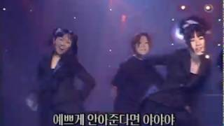 베이비복스 (Baby V.O.X) - 야야야 (인기가요 1998.09.27)